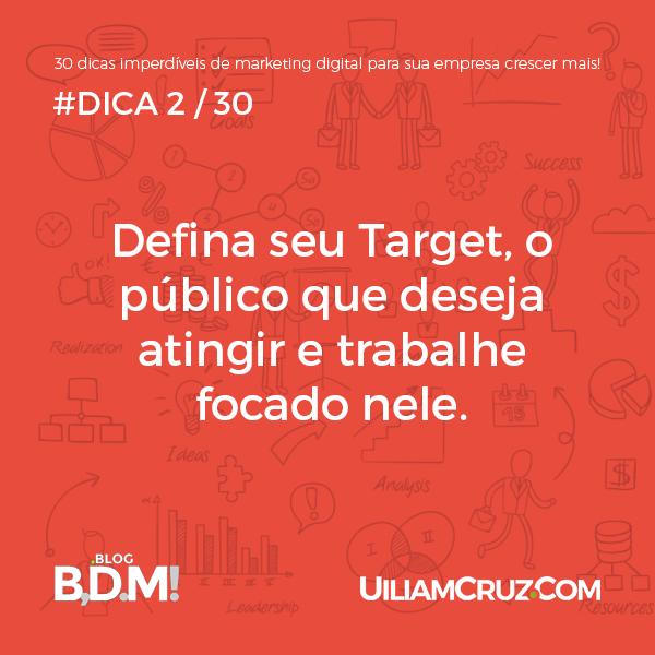 Target, público-alvo
