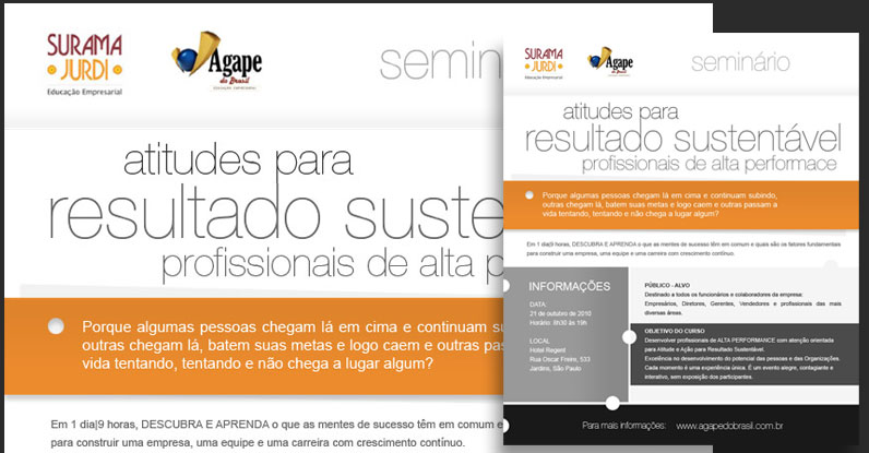 Portfolio Web Design | E-mail Marketing | Surama