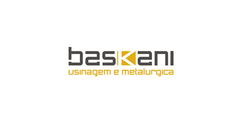 Portfolio Logotipo | Marca | Baskani Usinagem Metalúrgica