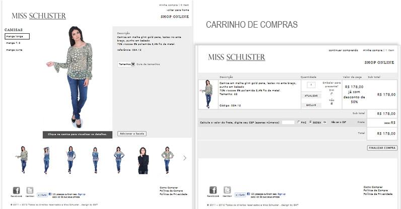 Loja Virtual Moda