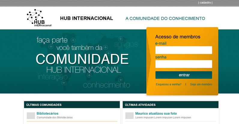 Comunidade Hub Internacional